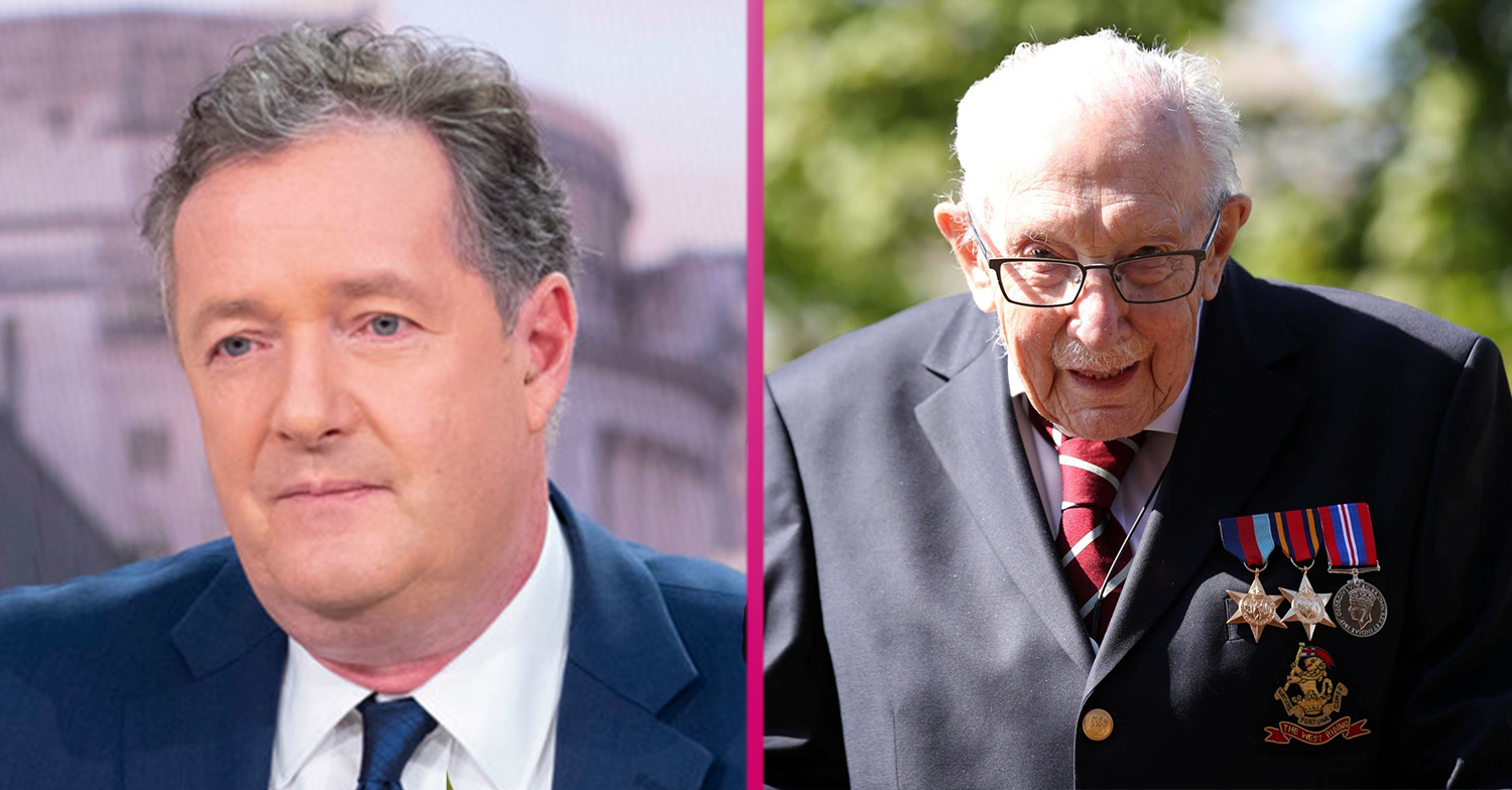 Piers Morgan's controversial Colonel Tom Moore comments divide GMB fans
