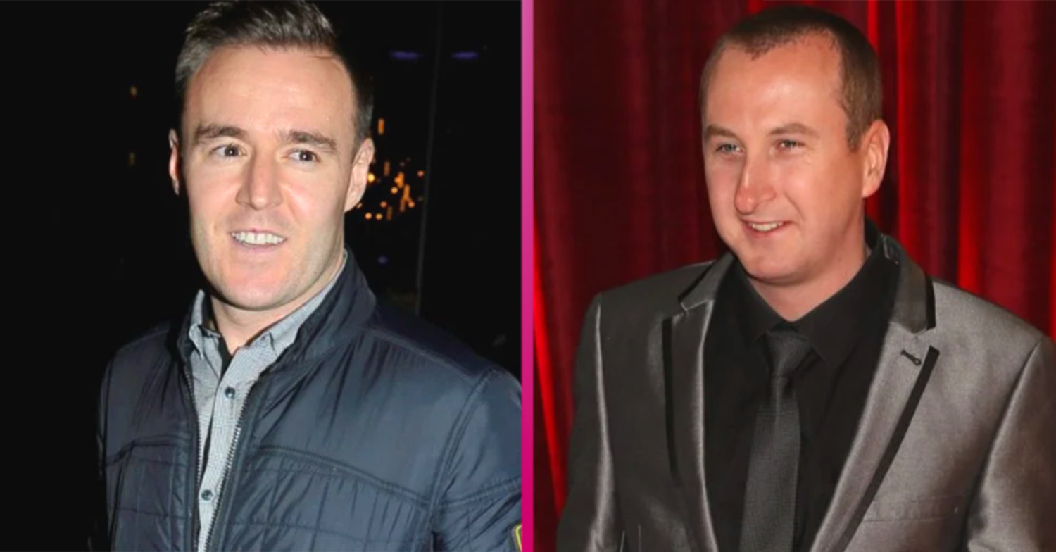 Coronation Street star Alan Halsall compares co-star Andy Whyment to ET in topless pic
