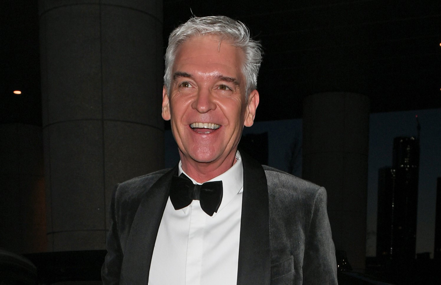 Phillip Schofield sips on gin as he reveals lockdown exercise routine