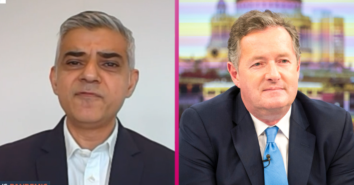 GMB fans brand Sadiq Khan interview 'painful to watch' after Piers Morgan 'rips him apart'