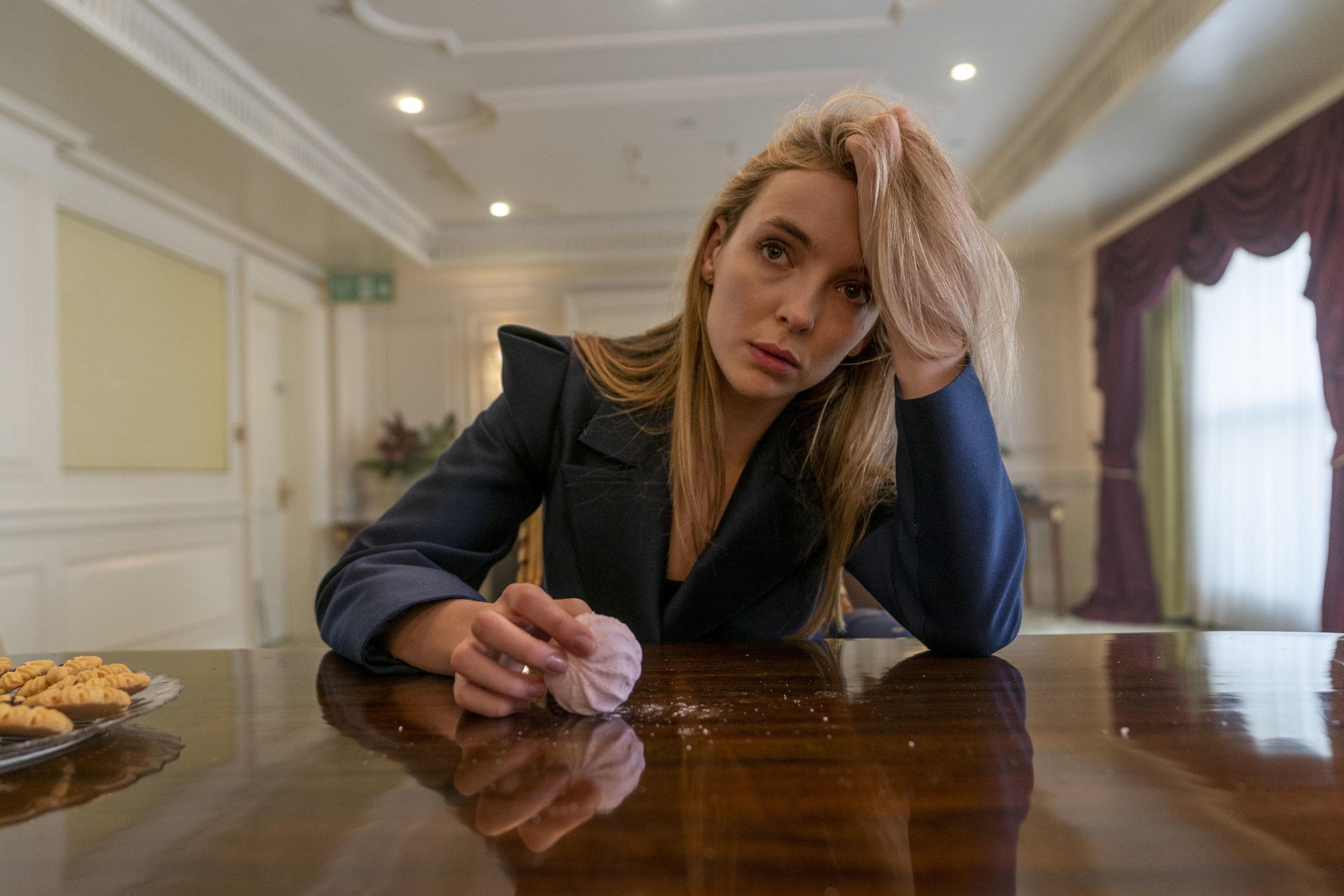 Jodie Comer as Villanelle in Killing Eve