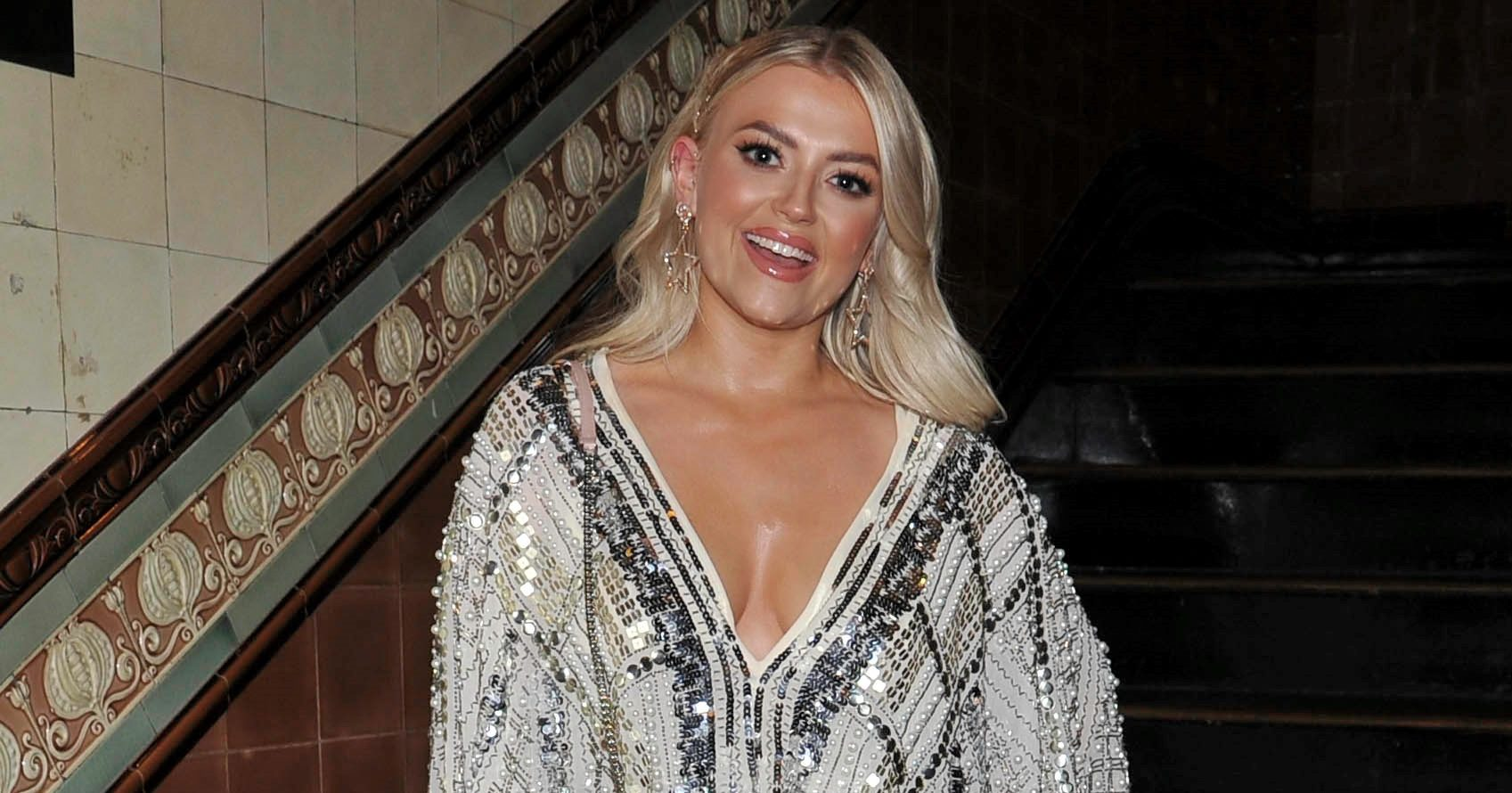 Former Coronation Street star Lucy Fallon sets up her own bar in her back garden