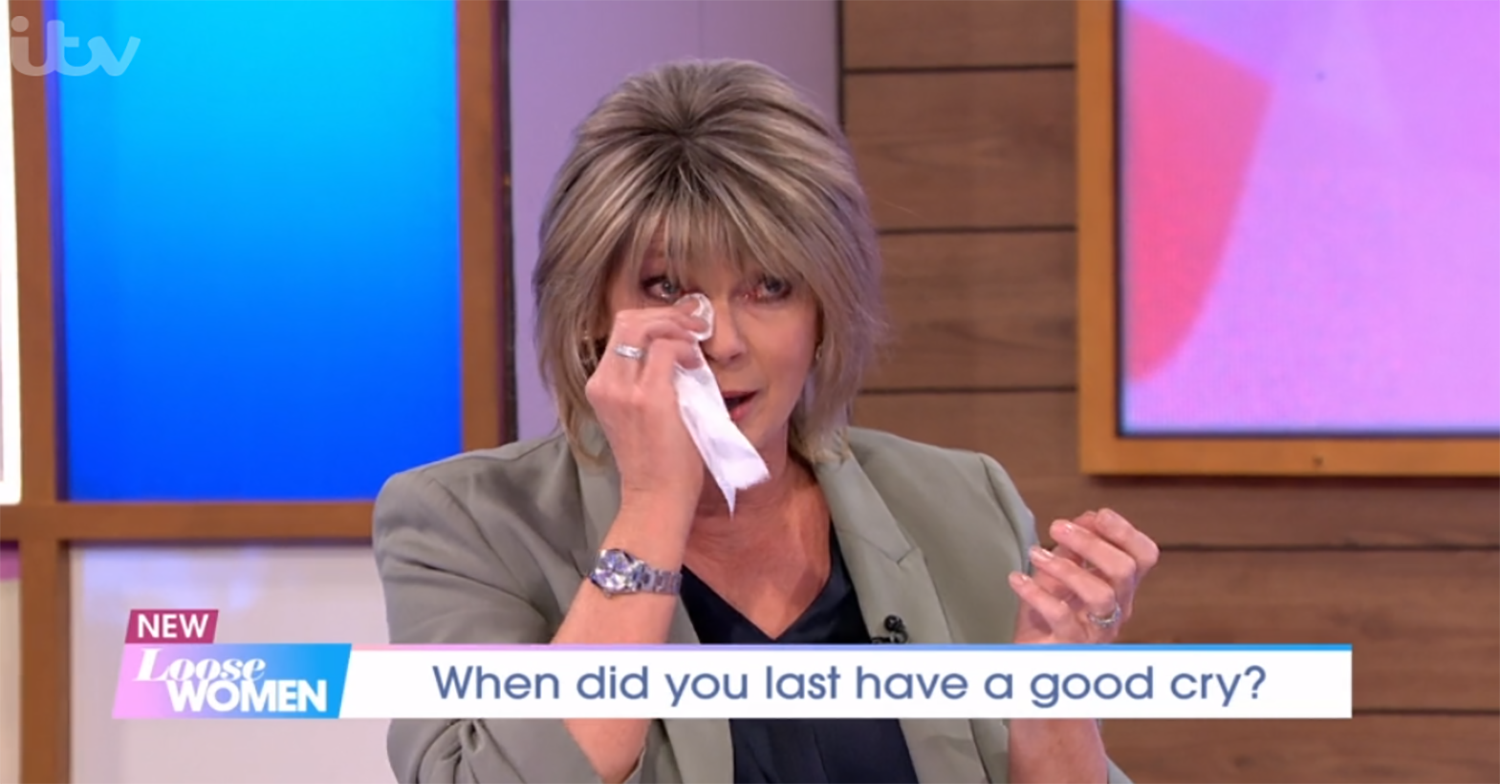 Ruth Langsford in tears over emotional moment she shared with son in lockdown