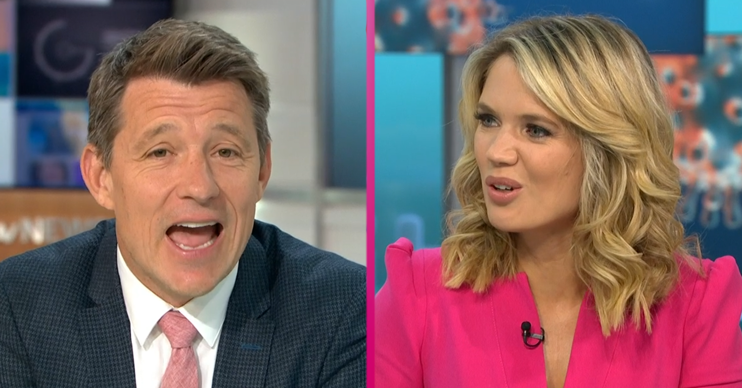 Ben Shephard in hilarious Good Morning Britain gaffe that leaves Charlotte Hawkins in stitches