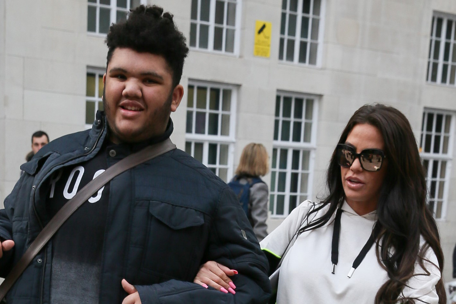 Katie Price's son Harvey dedicates song to NHS in touching Clap for our Carers video