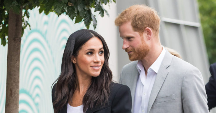 meghan markle wedding anniversary prince harry