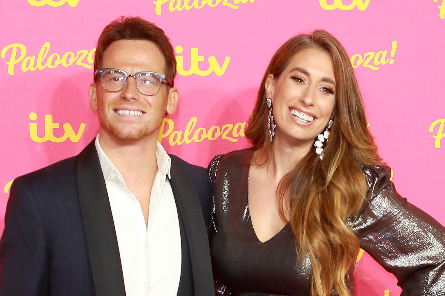 Stacey Solomon vows to cheer up Joe Swash after his nan died