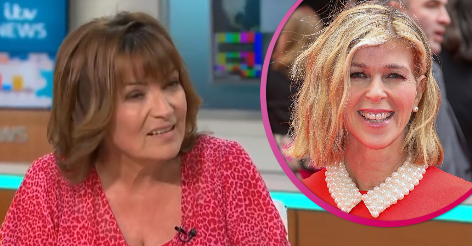 Lorraine Kelly praises Kate Garraway's 'extraordinary strength' as her husband battles coronavirus