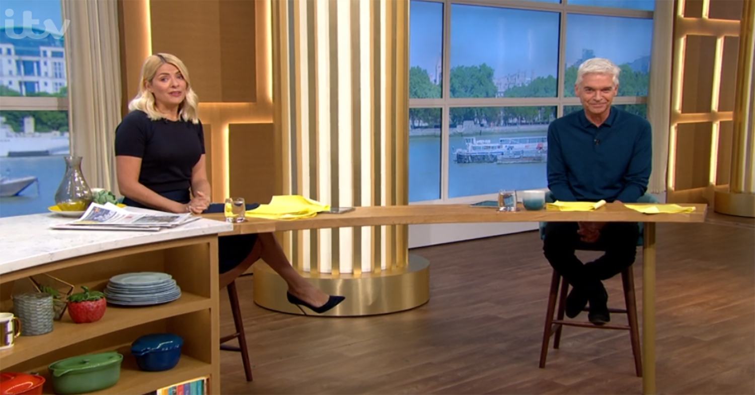 Holly Willoughby and Phillip Schofield replaced on This Morning next week