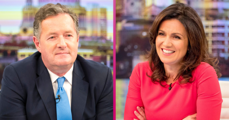 Where are Piers Morgan and Susanna Reid