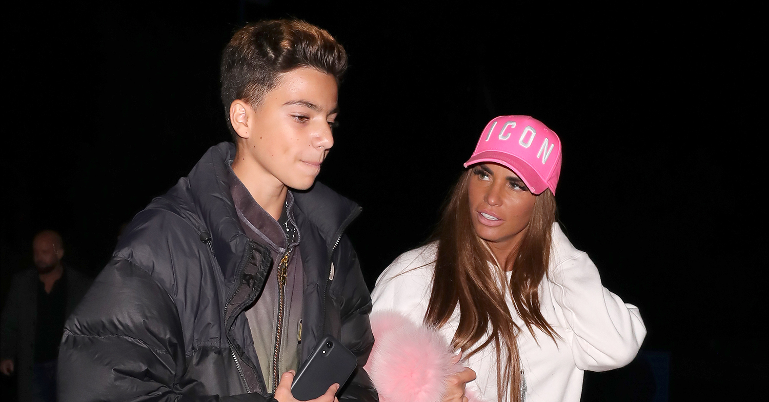 katie price with son junior