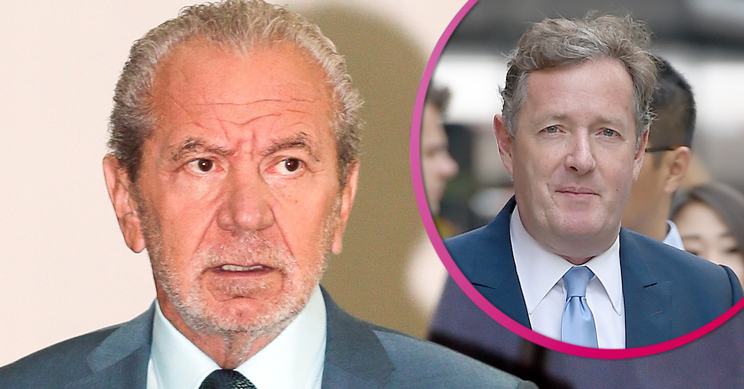 Lord Sugar brands Piers Morgan 'deluded pilllock' in latest Twitter rant