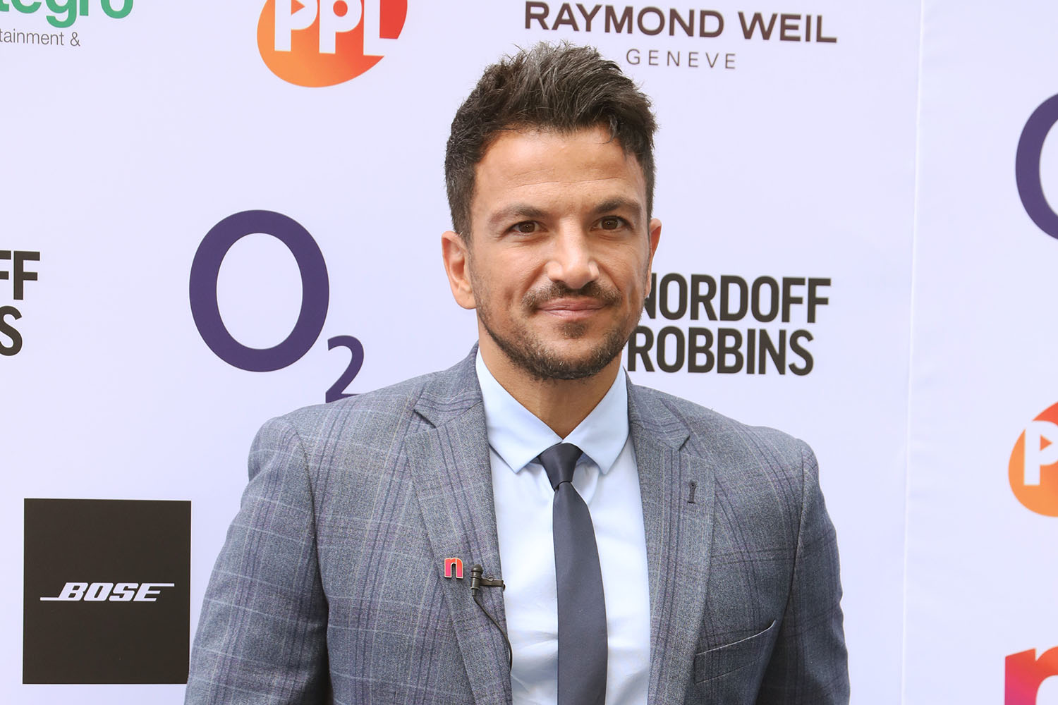 Peter Andre teases that there's 'something very exciting' coming next Wednesday