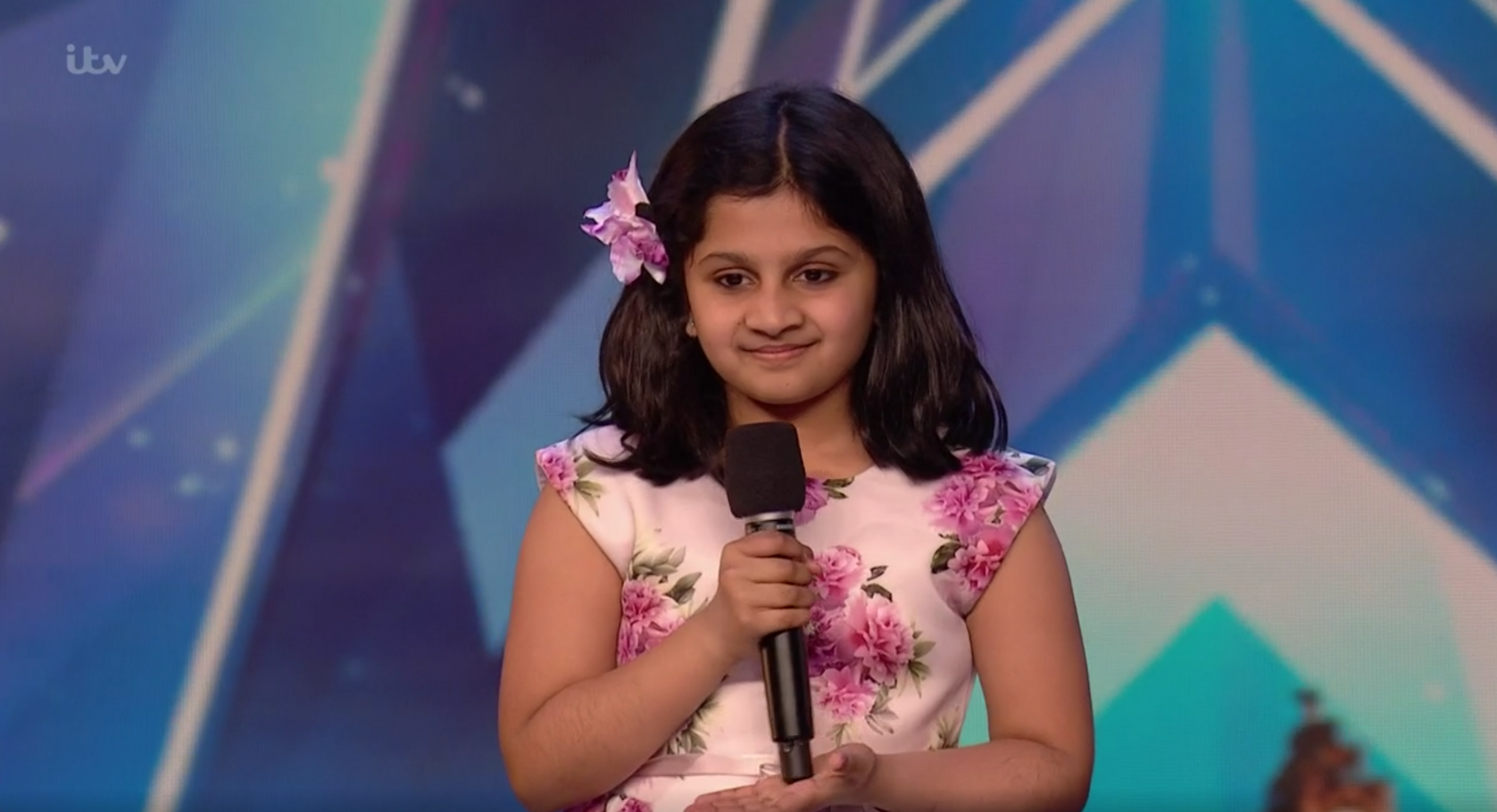 BGT child singer Souparnika Nair performed on Michael McIntyre's Big Show
