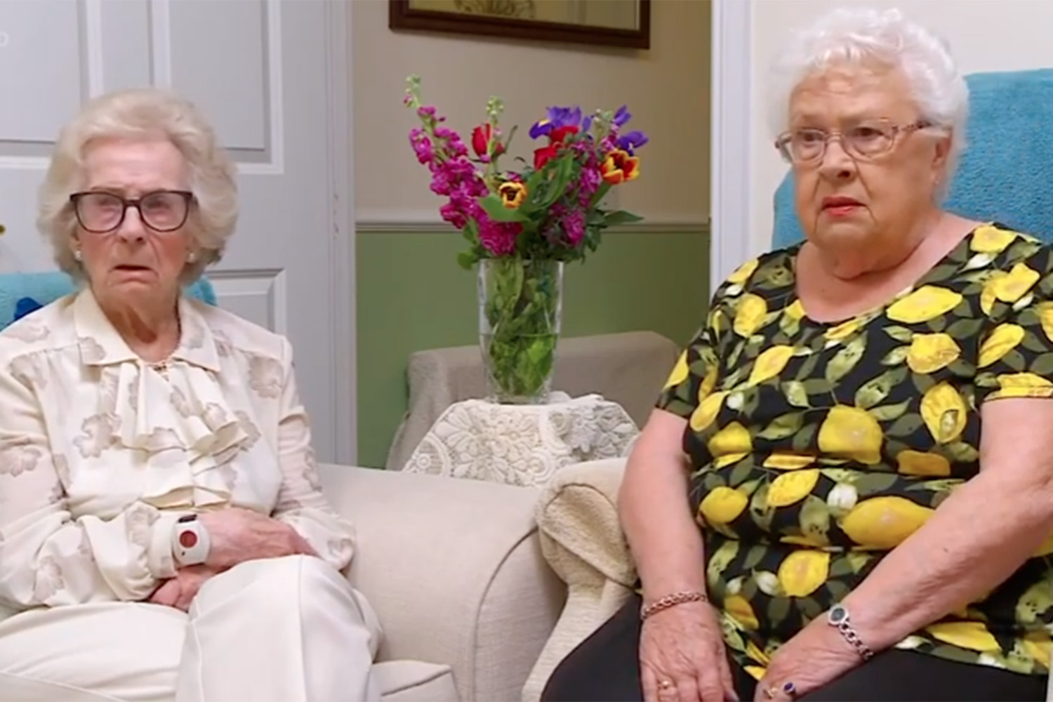 Gogglebox bosses stopped filming elderly pair Mary and Marina due to coronavirus risk