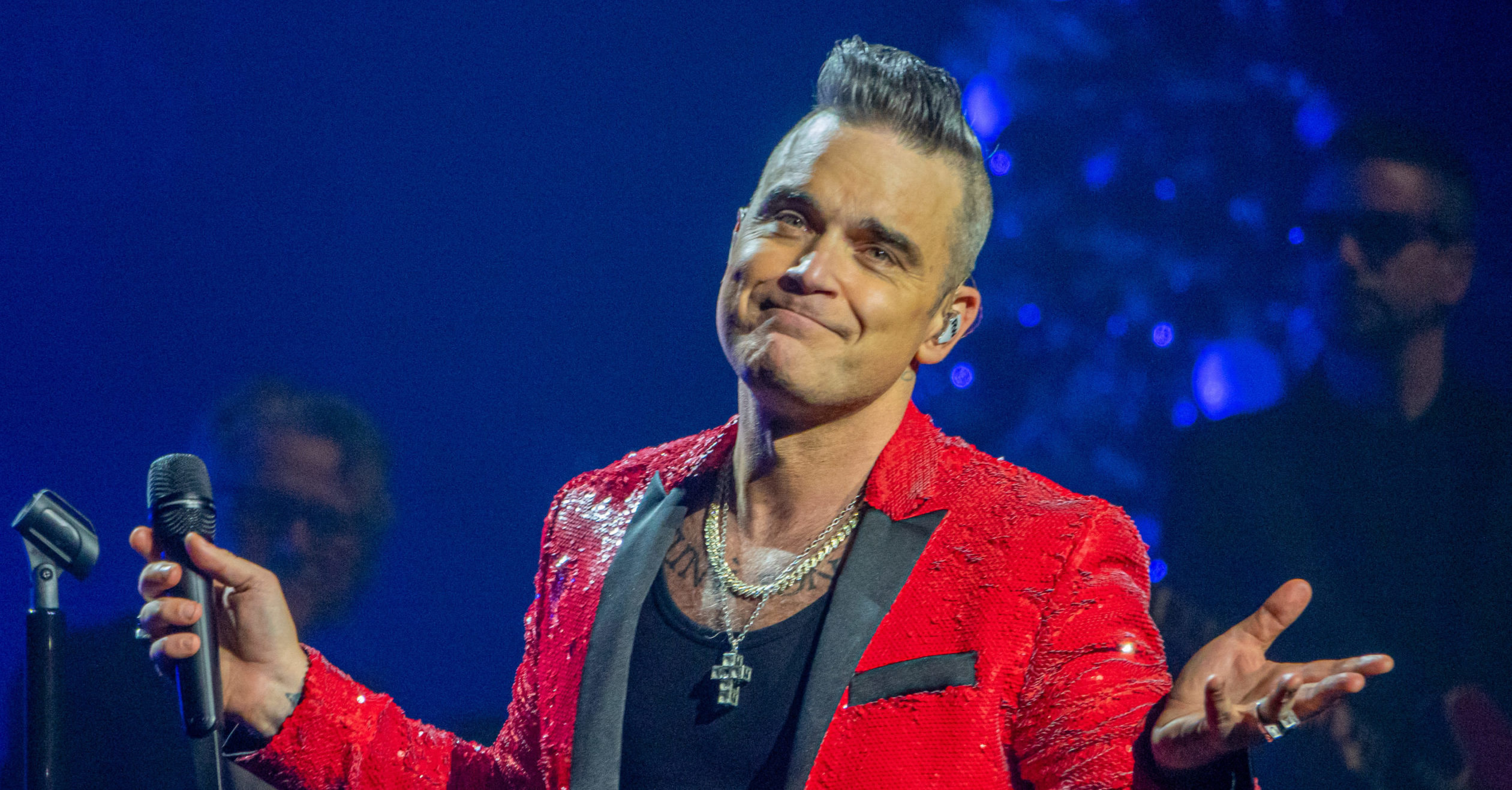 Robbie Williams has five TV shows in the works