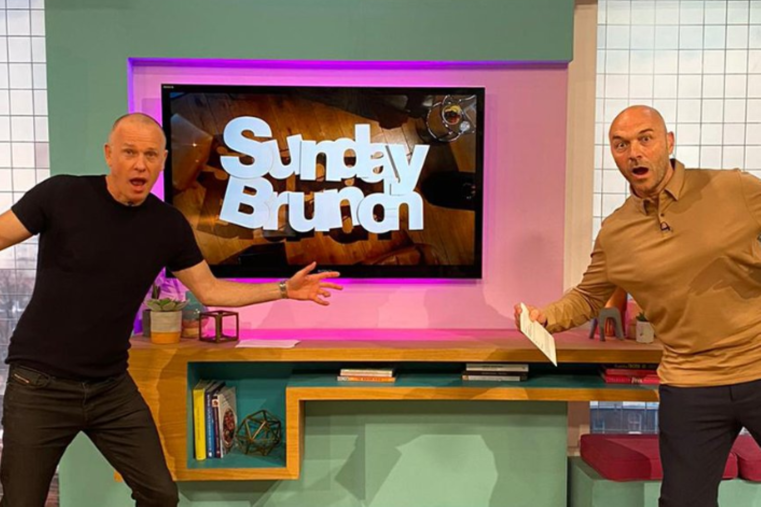 Sunday Brunch fans thrilled as show returns to the studio