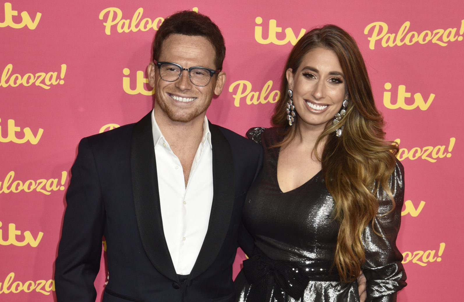 Stacey Solomon admits she couldn't stop crying on Rex's first birthday