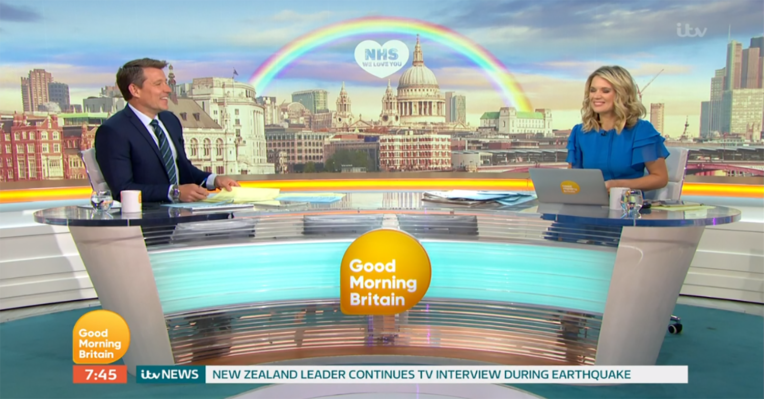 GMB viewers divided as Ben Shephard and Charlotte Hawkins replace Piers Morgan and Susanna Reid