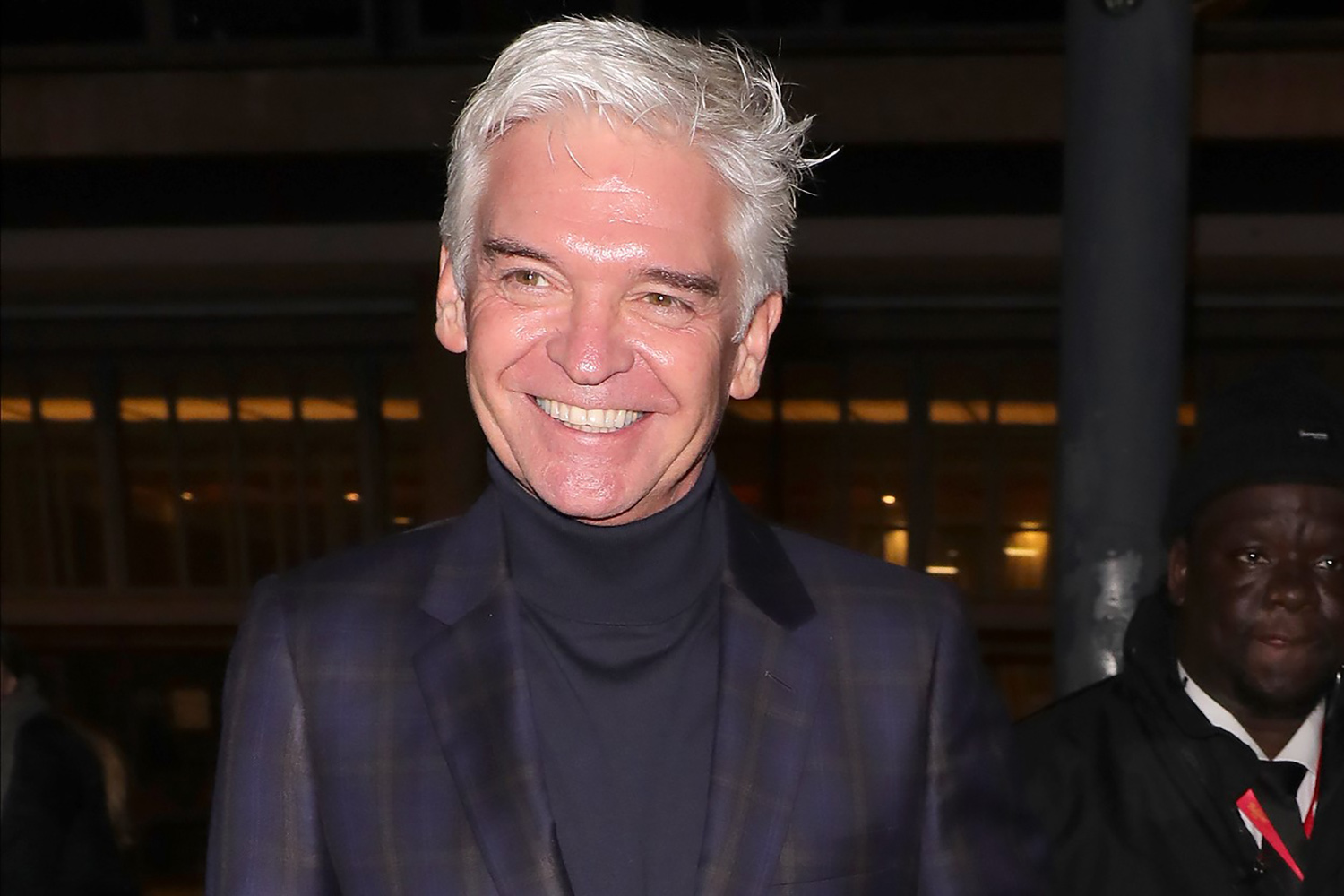 Phillip Schofield gets dressed up for family barbecue with wife and daughters