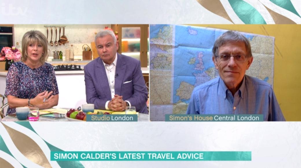 Simon Calder on This Morning