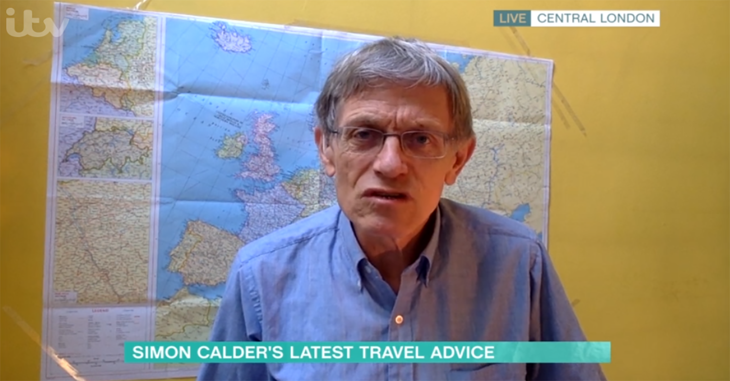 This Morning viewers slam 'irresponsible' travel expert for revealing quarantine 'loophole'