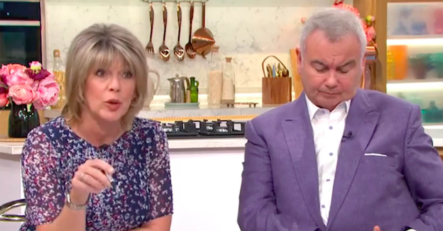 Ruth Langsford forced to step in and 'correct' expert on This Morning