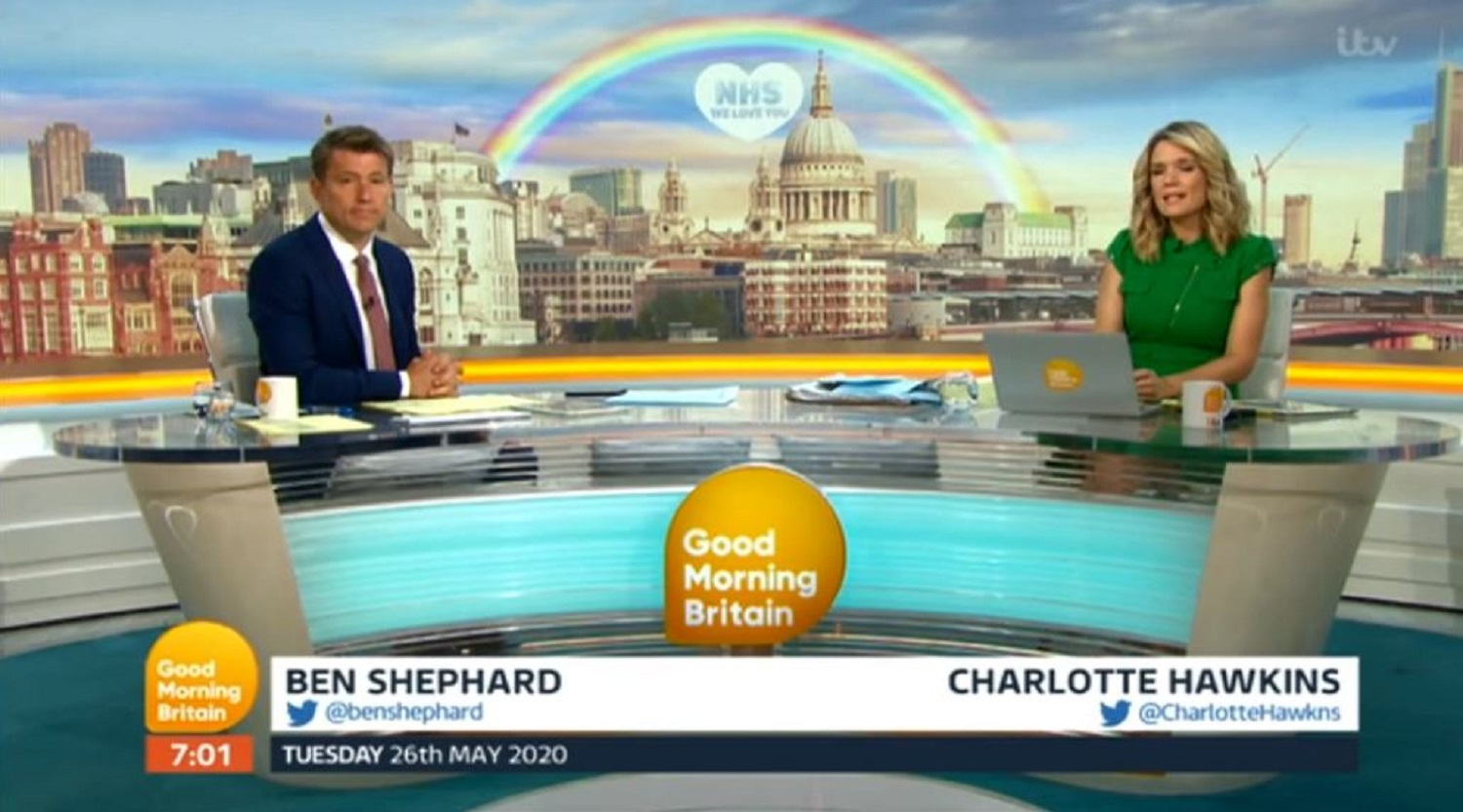Good Morning Britain: Ben Shephard and Charlotte Hawkins in tears over emotional interview