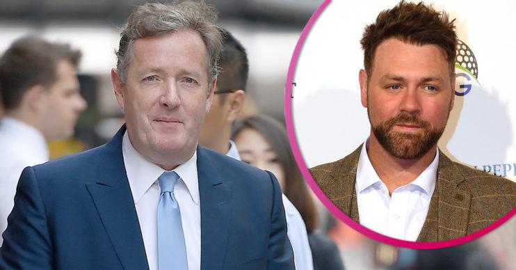 Piers Morgan and Brian McFadden
