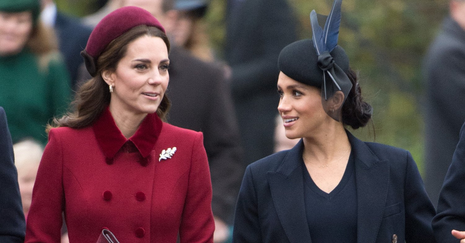 Meghan Markle and Kate Middleton 'fell out over bridesmaids' tights'