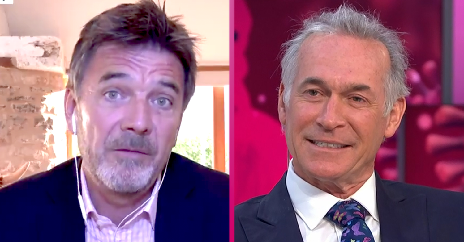 GMB fans swoon over 'hot' Dr Mark Porter and call for him to permanently replace Dr Hilary Jones