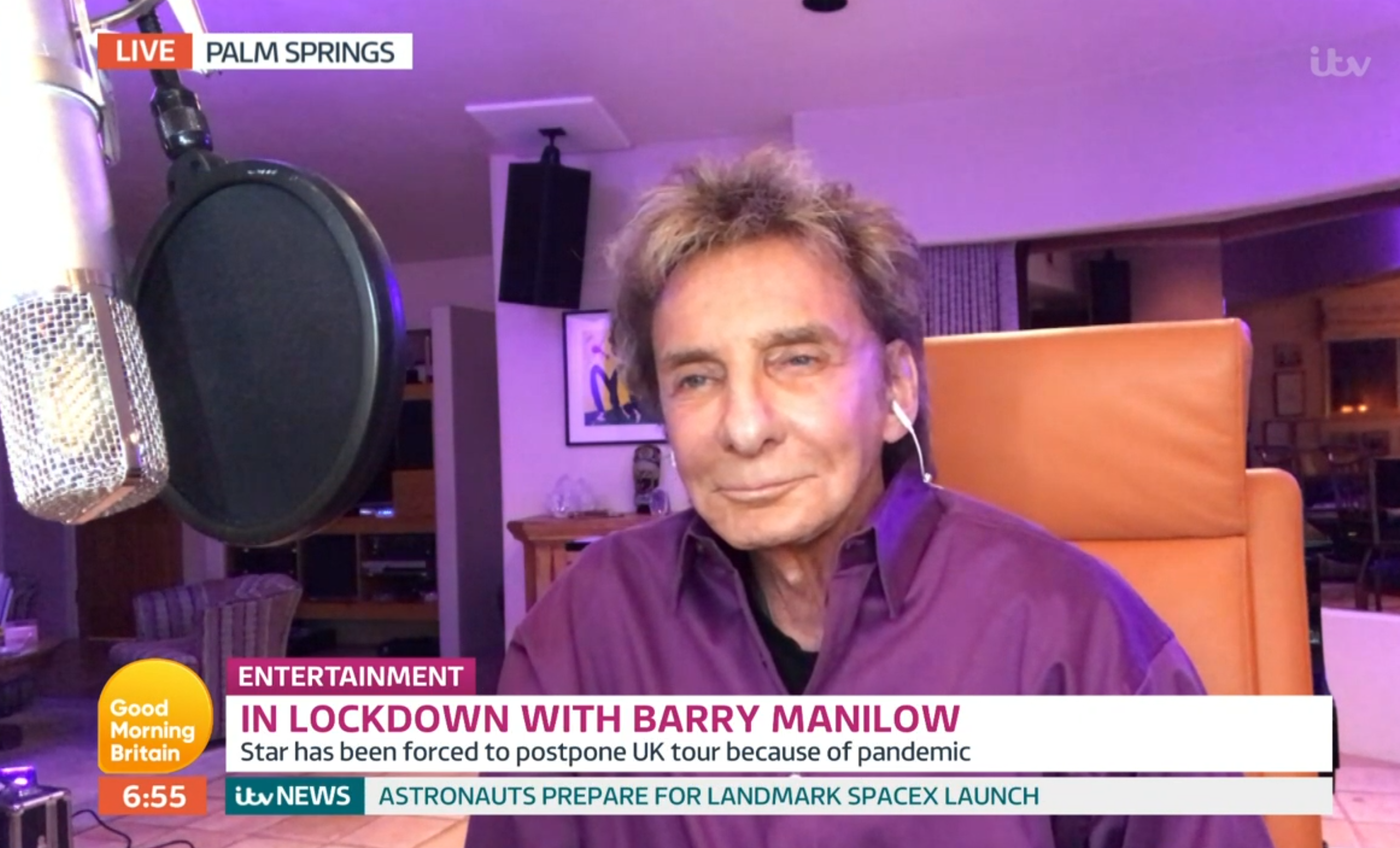 Barry Manilow GMB