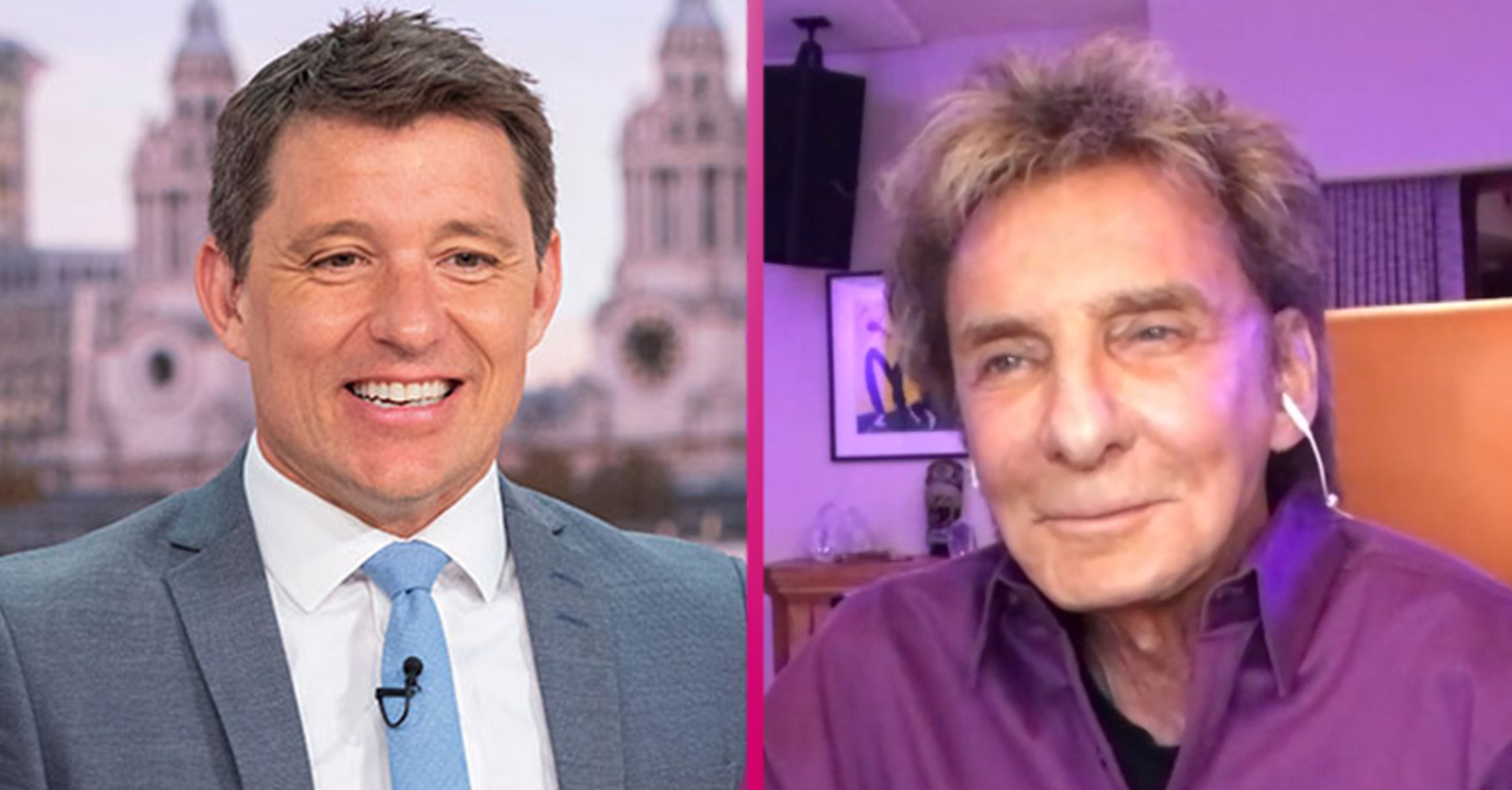 Was Barry Manilow miming? Watch moment that left GMB fans in hysterics