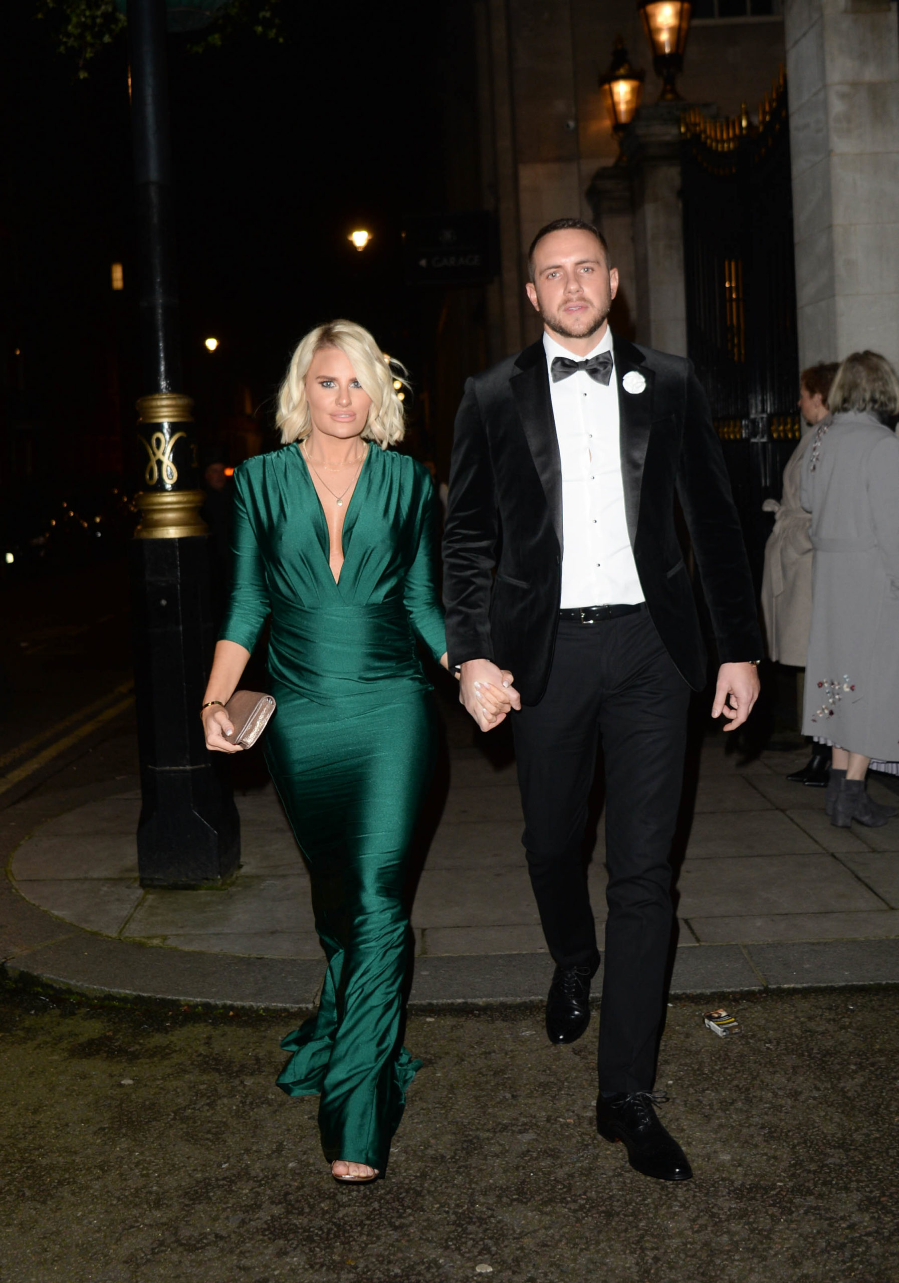 Danielle Armstrong and Tommy Edney