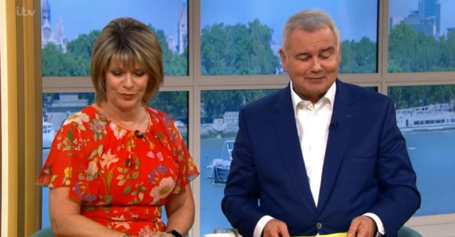 This Morning: Eamonn Holmes and Ruth Langsford clash again over correct way to pronounce leprechaun