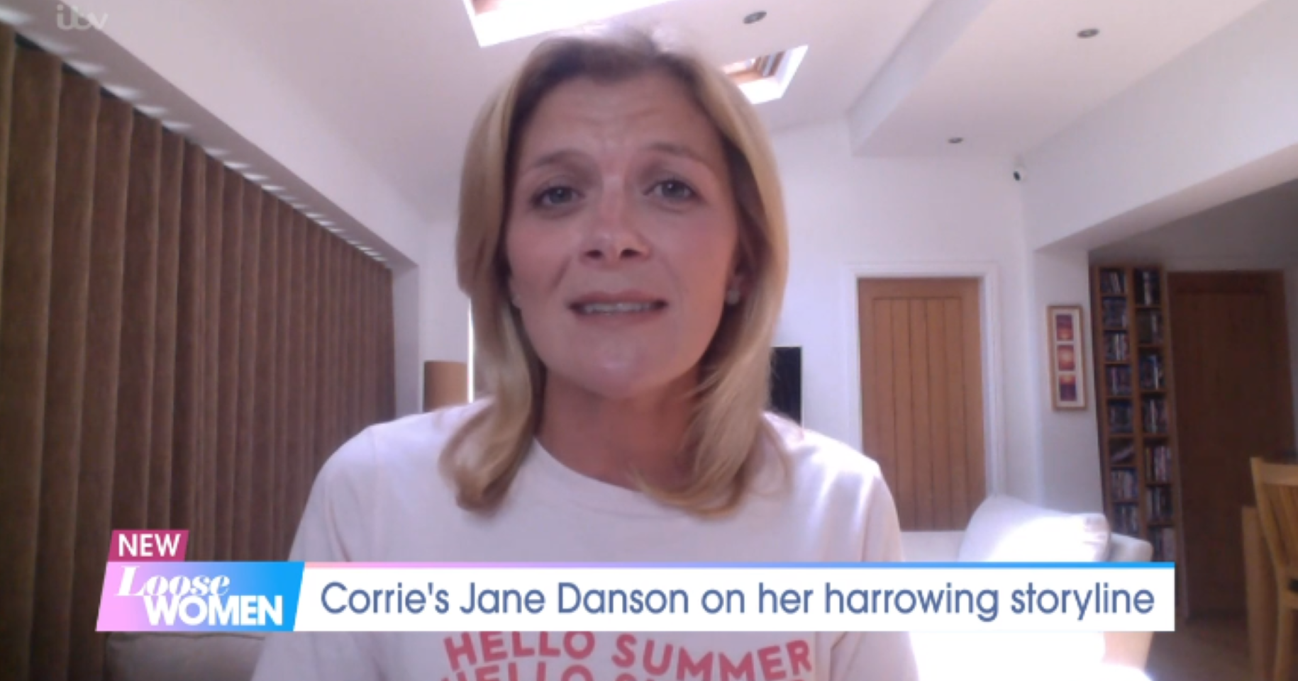 Coronation Street's Jane Danson admits she's finding homeschooling 'awful'