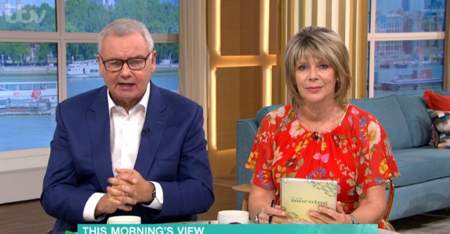 This Morning viewers slam Ruth Langsford for suggesting some Brits see furlough as 'one big summer holiday'
