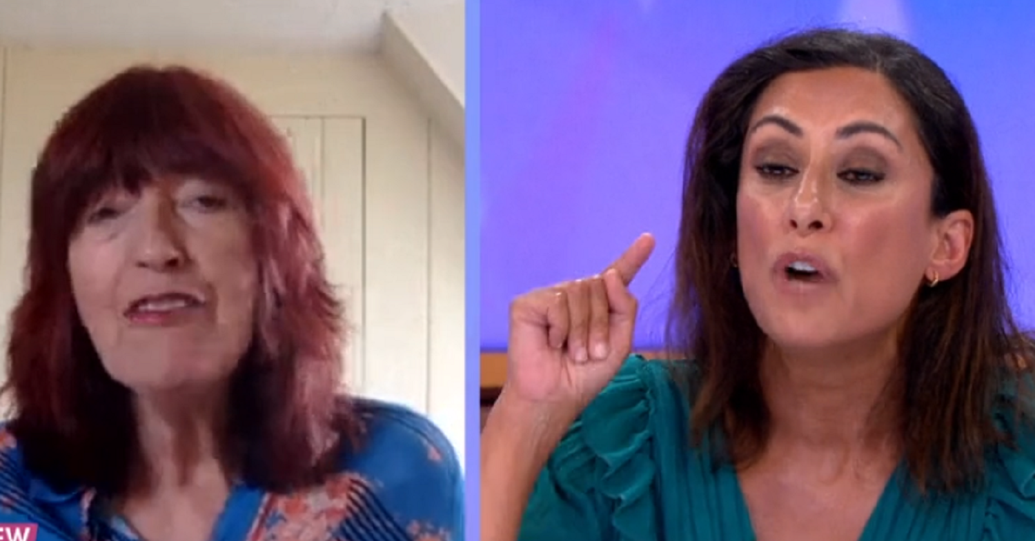 Loose Women hosts Janet Street-Porter and Saira Khan row over Dominic Cummings scandal
