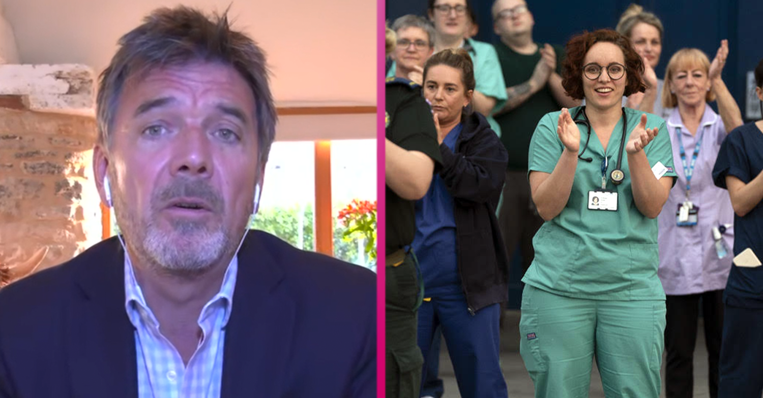 GMB's Dr Mark Porter reveals 'embarrassment' over Clap for Carers