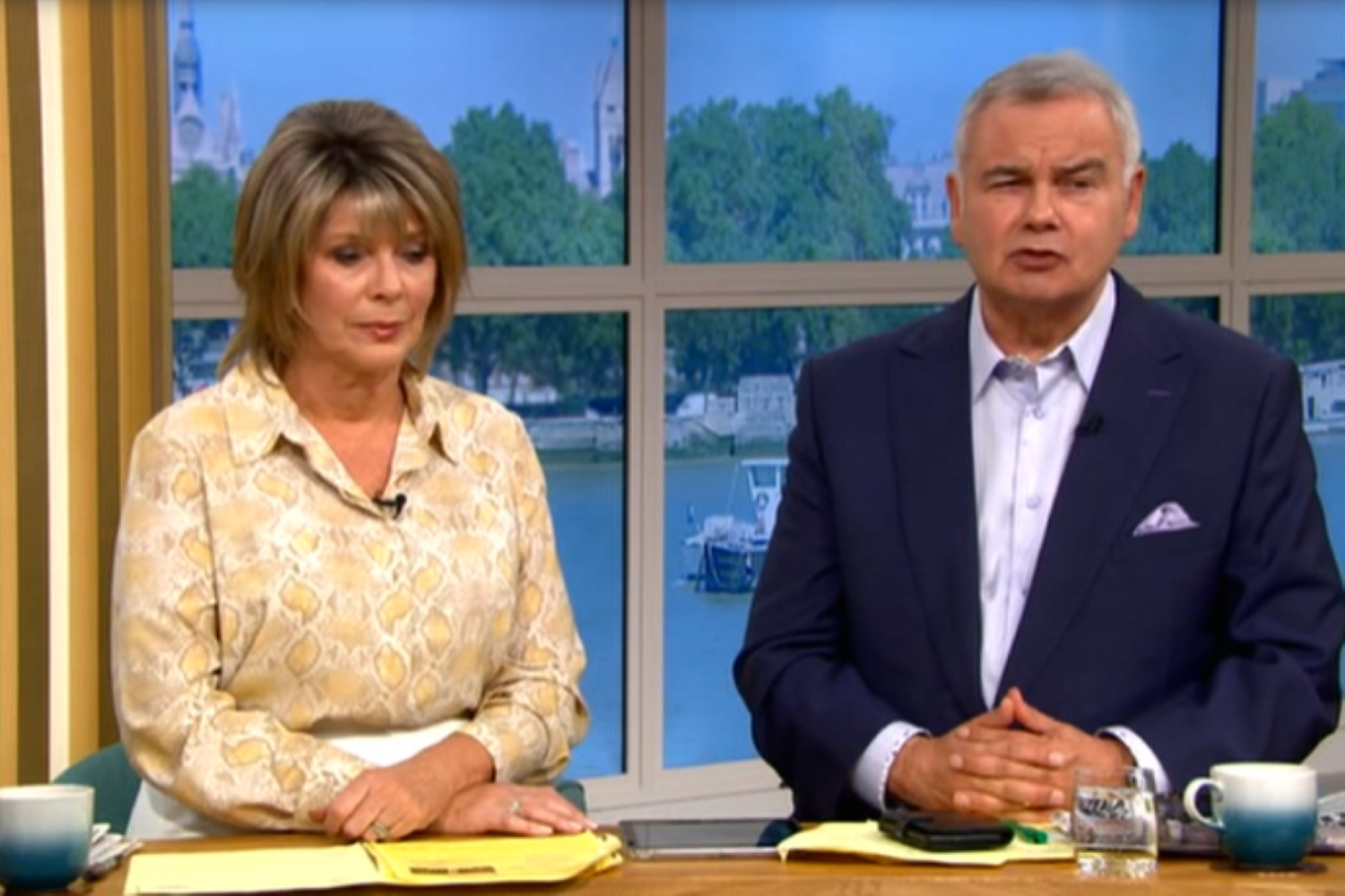 This Morning fans accuse Ruth and Eamonn of wasting Matt Hancock interview with ridiculous questions