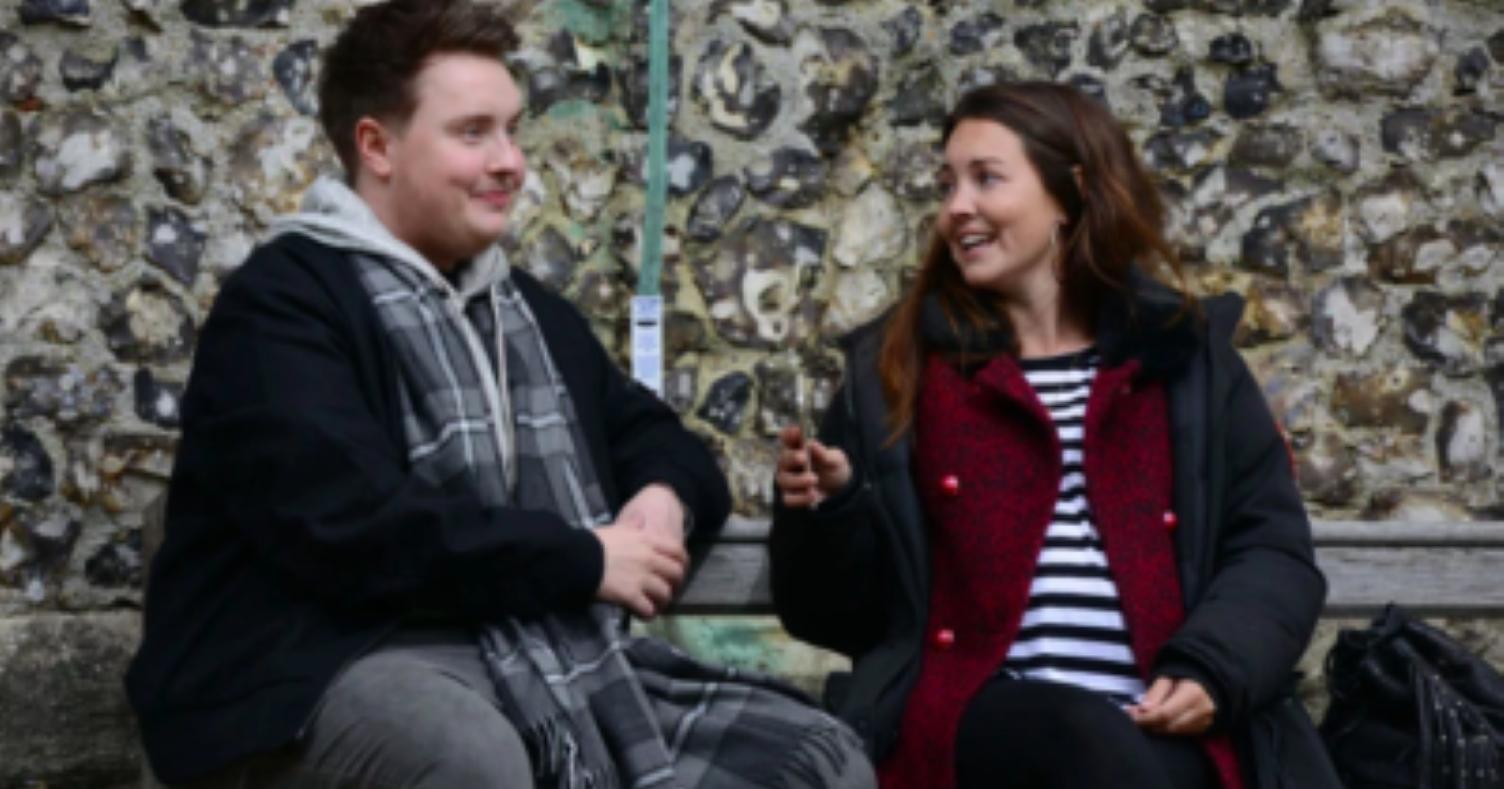 Former EastEnders star Riley Carter Millington undergoes dramatic makeover