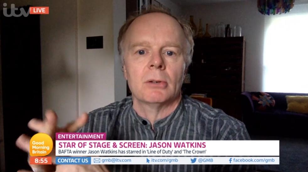 Jason Watkins on Good Morning Britain