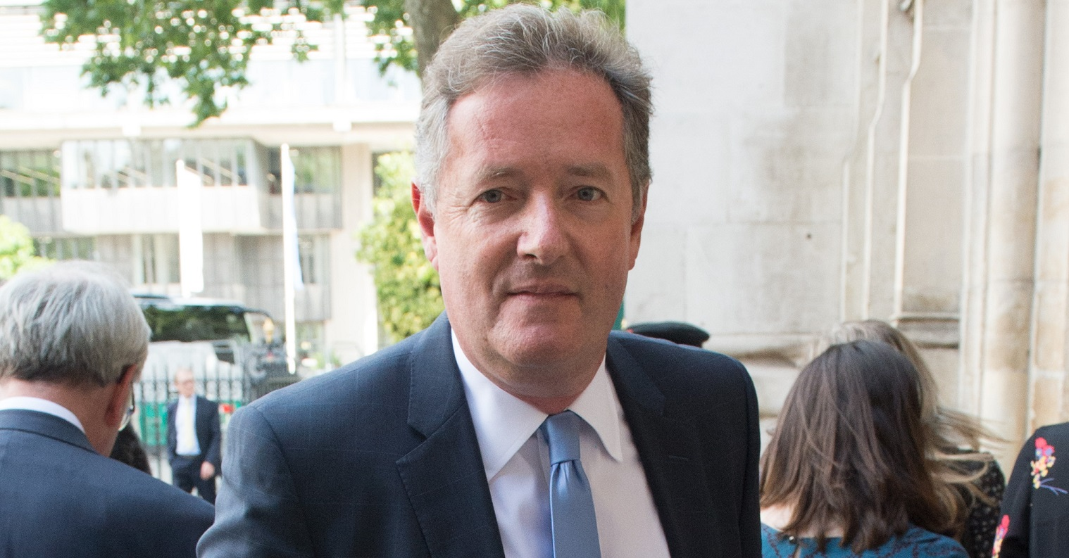 Piers Morgan fans fear for his health as he's snapped outside during break from Good Morning Britain