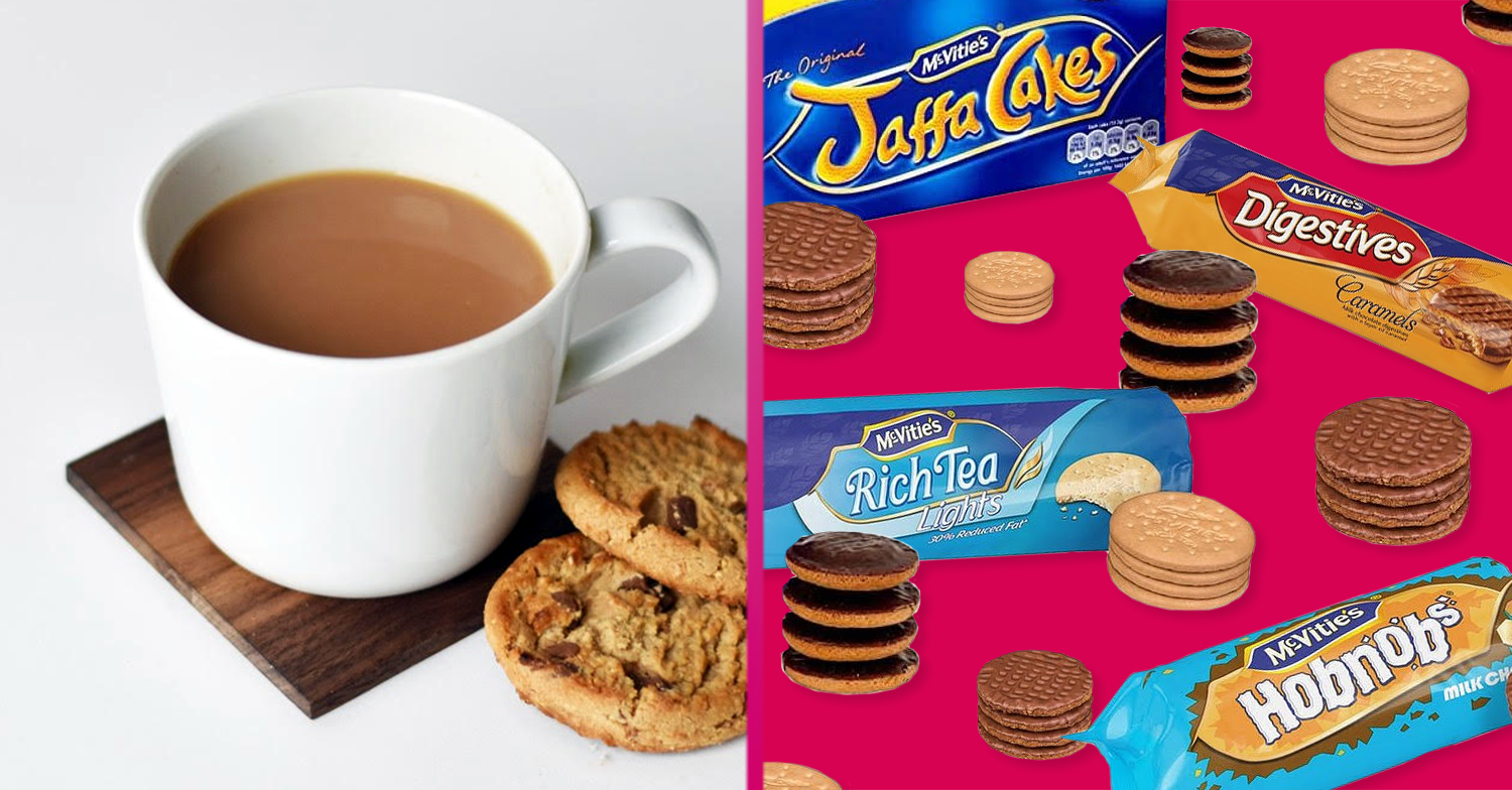 The best biscuit to dunk into your cuppa has been revealed – and the results may surprise you