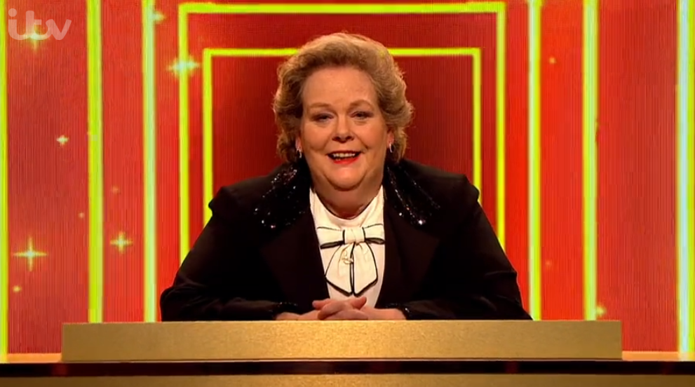 Anne Hegerty on Britain's Brightest Celebrity Family