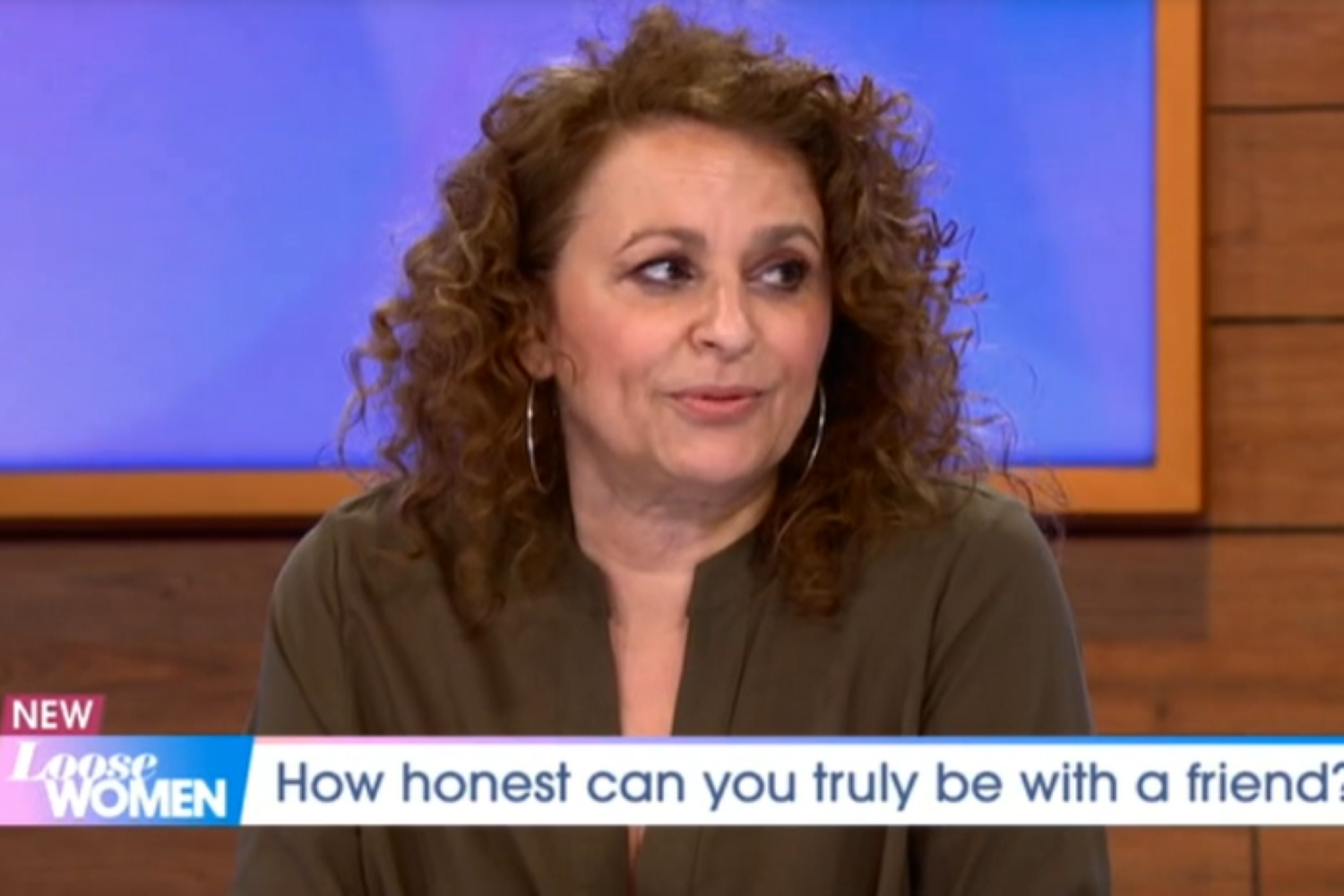 Loose Women viewers in shock as Nadia Sawalha calls her friend fat live on air