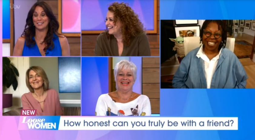 Whoopi Goldberg on Loose Women Credit: ITV