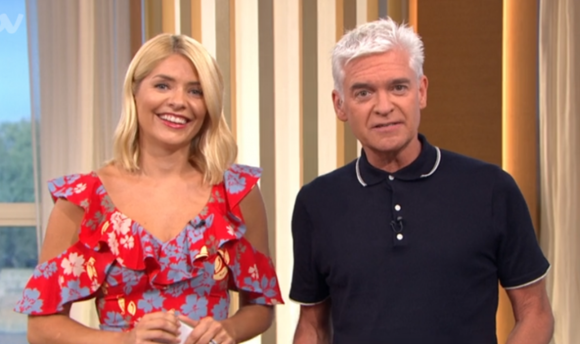 Holly Willoughby and Phillip Schofield reunite with families for Friday night party