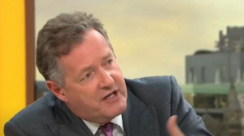 Piers Morgan's home decor ridiculed by GMB co-star after he shared a look inside his pad