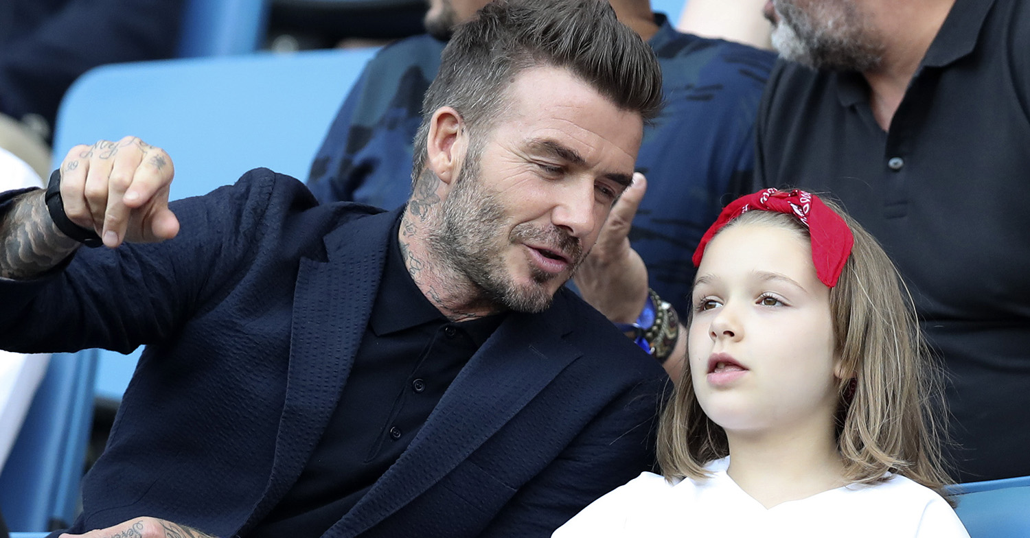 David Beckham melts fans' hearts as he unveils Harper's 'surprising' gift in father-daughter photo